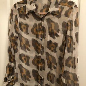 Equipment silk blouse. Size XS.